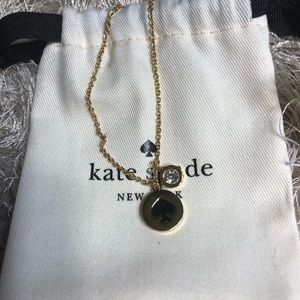 🎉NWOT🎉 Kate Spade Gold Logo Necklace